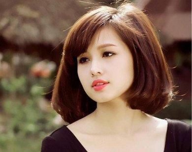 Kiểu tóc ngắn cho gương mặt tròn không thể không yêu