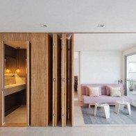 Tối ưu không gian sống với chiếc vách cửa thần kỳ