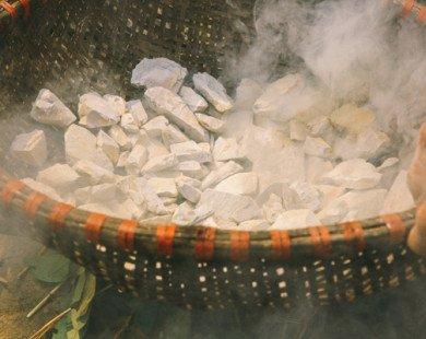 Lạ miệng với món đất hun khói ở Vĩnh Phúc