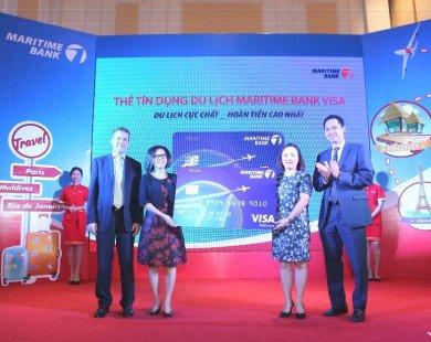 Cơ hội hoàn tiền tới 32 triệu đồng với thẻ Tín dụng Du lịch Maritime Bank Visa