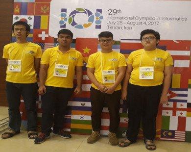 Việt Nam giành 3 huy chương Olympic Tin học quốc tế