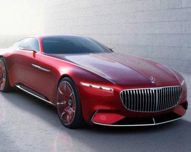 Mẫu mui trần siêu sang Mercedes-Maybach S600 Concept sắp ra mắt