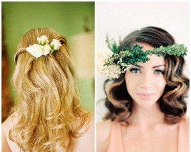 Gợi ý hai kiểu tóc đẹp cho cô dâu
