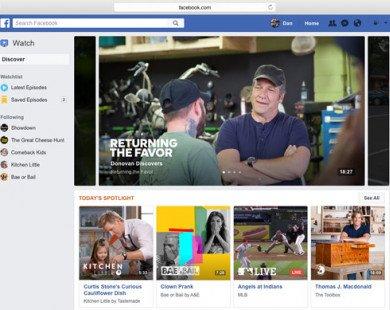 Facebook Watch: Ra đời để lật đổ YouTube