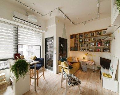 Căn hộ 45 m2 vẫn đủ tiện nghi dành cho người trẻ