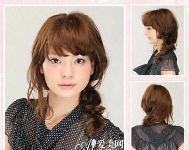 11 kiểu tóc xinh tươi mát mẻ cho bạn gái