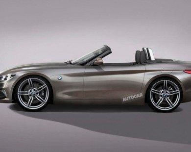 Hé lộ hình ảnh mẫu thể thao mui trần BMW Z4 Concept