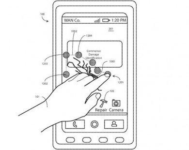 Smartphone tự sửa màn hình vỡ có thể thành hiện thực