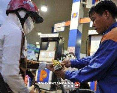 Giá xăng tăng mạnh từ 15h chiều nay