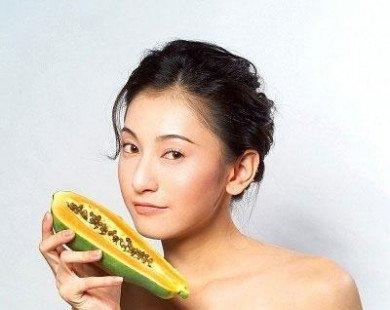 Phục hồi tóc chẻ ngọn bằng quả đu đủ