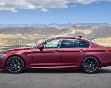 BMW M5 2018 sức mạnh ngang siêu xe