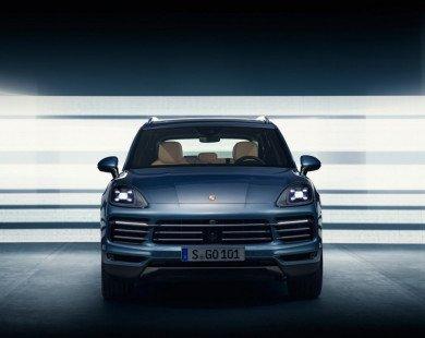 Porsche Cayenne 2018 thay đổi phong cách thiết kế