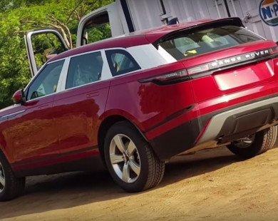 Range Rover Velar lần đầu đến Ấn Độ