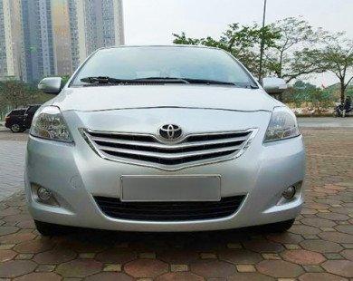 Triệu hồi hơn 20.000 xe Toyota Vios và Yaris vì lỗi túi khí ở VN