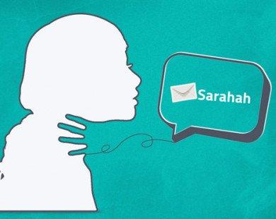 Ứng dụng Sarahah âm thầm lấy danh bạ người dùng