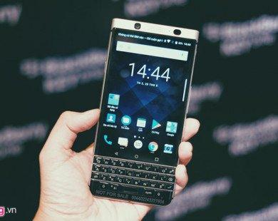 BlackBerry KeyOne chính hãng giá 15 triệu tại Việt Nam