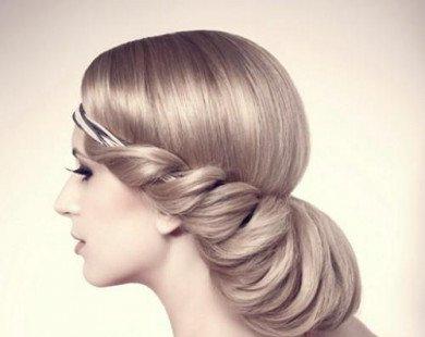 8 kiểu tóc dài tuyệt đẹp cho cô dâu