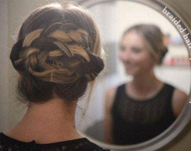 Cách tết tóc điệu đà cho cô nàng ngôi giữa