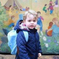 Hoàng tử bé nước Anh chuẩn bị cho ngày đầu tiên học trường mới