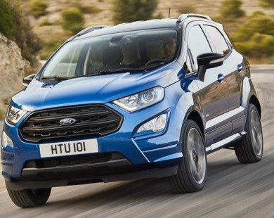Ford EcoSport bản nâng cấp có thêm động cơ diesel ở châu Âu
