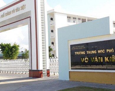 Hiệu trưởng xin nghỉ việc vì không chịu về Sở GD&ĐT Kiên Giang