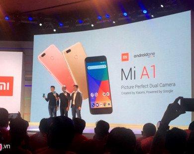 Xiaomi Mi A1 ra mắt với camera kép, chạy Android One