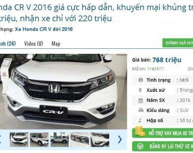 Giá ô tô giảm loạn 400 triệu đồng/chiếc: Người dùng Việt 'bấn loạn', rủ nhau 'om tiền' chờ 2018