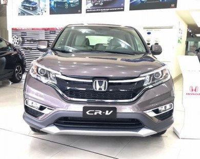 Honda CR-V đại hạ giá: Một tuần náo loạn thị trường ôtô Việt