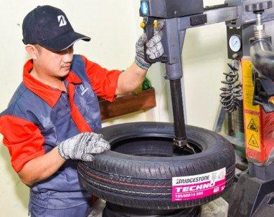 Dòng lốp mới của Bridgestone có độ bền lên đến 62.000 km
