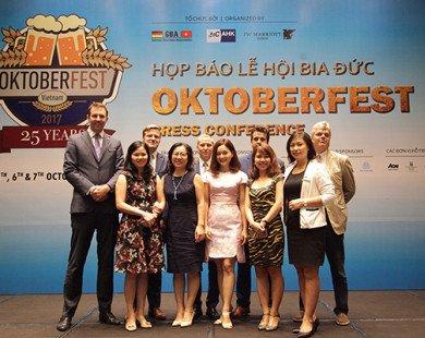 """Đếm ngược chào mừng 25 năm sự kiện văn hóa """"GBA Oktoberfest Việt Nam 2017"""""""