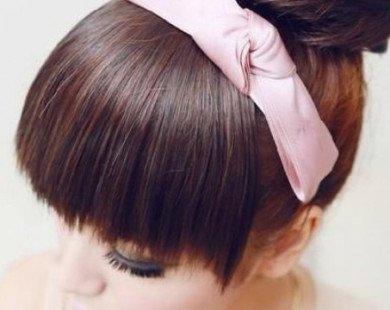 Những kiểu tóc búi đẹp