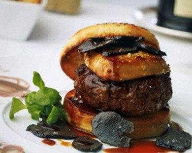 Có gì trong chiếc hamburger giá hơn 100 triệu, ăn một lần nhớ cả đời?