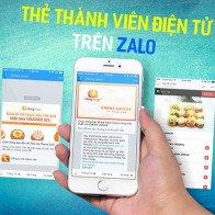 Dùng tài khoản Zalo thay cho thẻ khách hàng thân thiết
