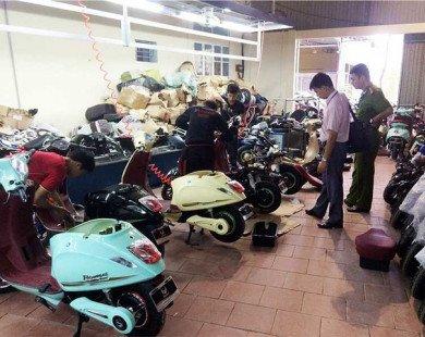 Đau đầu với xe máy Trung Quốc...'copy'