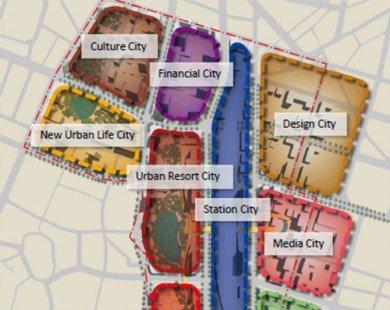 Xây tổ hợp 70 tầng quanh ga Hà Nội để có đất làm đường giao thông
