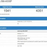 Rò rỉ cấu hình mạnh mẽ của Samsung Galaxy A5 2018