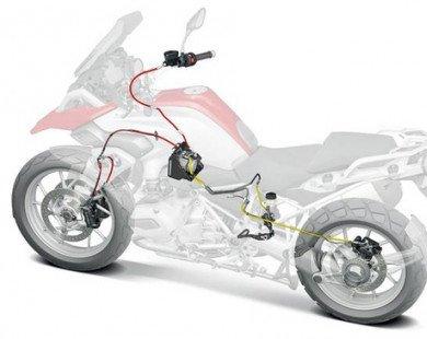 Vì sao xe máy ít khi được trang bị ABS?