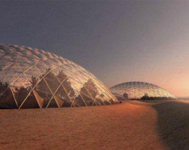 Dubai xây dựng thành phố khổng lồ mô phỏng sao Hỏa