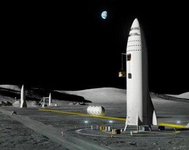 Elon Musk lần đầu tiên chia sẻ hình ảnh của Trạm không gian Mặt Trăng