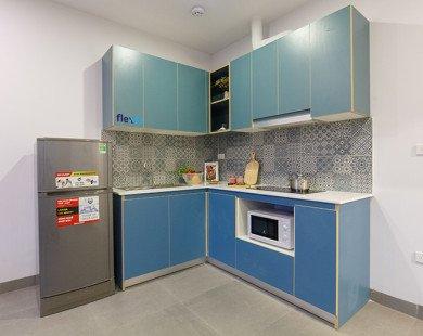 Đi tìm ánh sáng đèn phù hợp với màu sắc tủ bếp