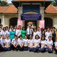 92 học sinh THPT chuyên Lê Hồng Phong vào đội dự tuyển quốc gia