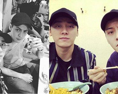 2 chàng trai của couple Đình - Phong gây sốt mạng xã hội với loạt ảnh mới siêu cấp đẹp trai