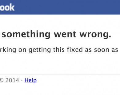 Facebook thừa nhận bị sập diện rộng vào đêm qua