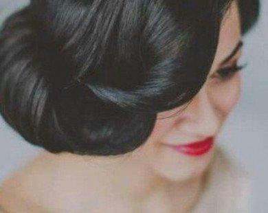 10 kiểu tóc búi đẹp sang trọng và dễ làm