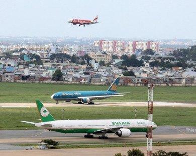 Tổng công ty quản lý bay Việt Nam đang bị các hãng nợ gần 600 tỷ đồng