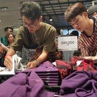 H&M khai trương cửa hàng tại Hà Nội vào ngày 11/11
