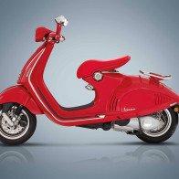 Vespa 946 RED chốt giá 405 triệu đồng tại Việt Nam