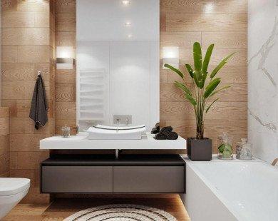 5 điều cần lưu ý khi bố trí phòng tắm trong phòng ngủ