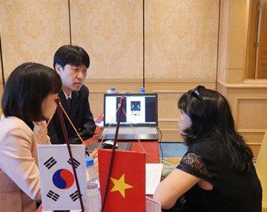 Kết nối giao thương doanh nghiệp Việt Nam-Hàn Quốc