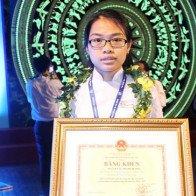 Cô bé học giỏi Toán và ước mơ trở thành giáo sư Ngô Bảo Châu